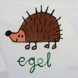 T-shirt Egel_